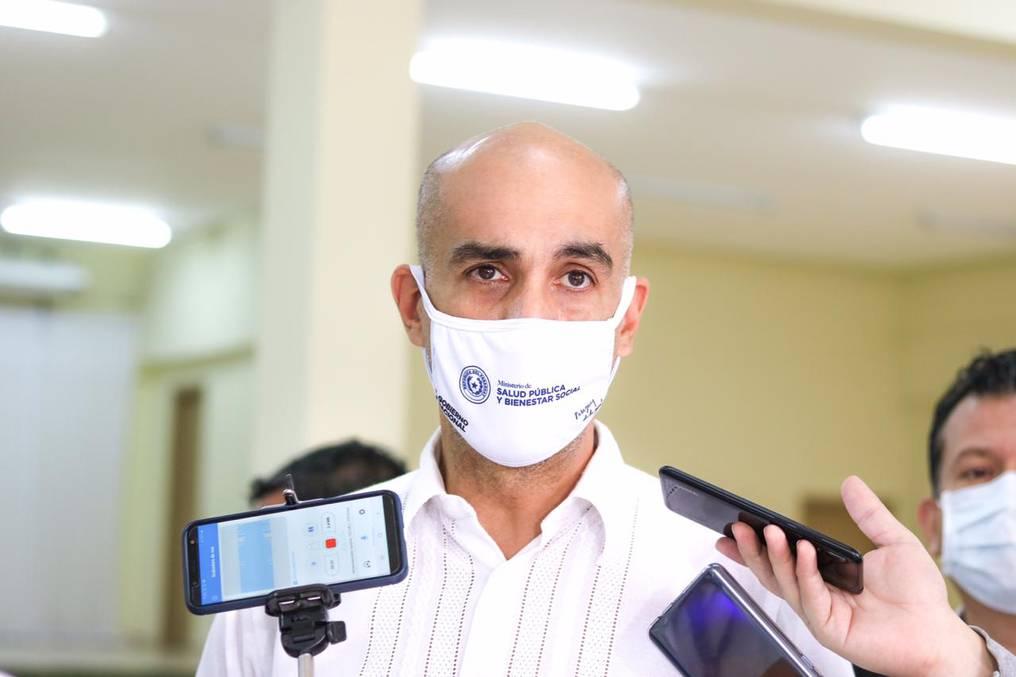 El ministro de Salud, Julio Mazzoleni, reconoció la alta ocupación de camas de terapia intensiva en la actualidad. (foto: archivo)