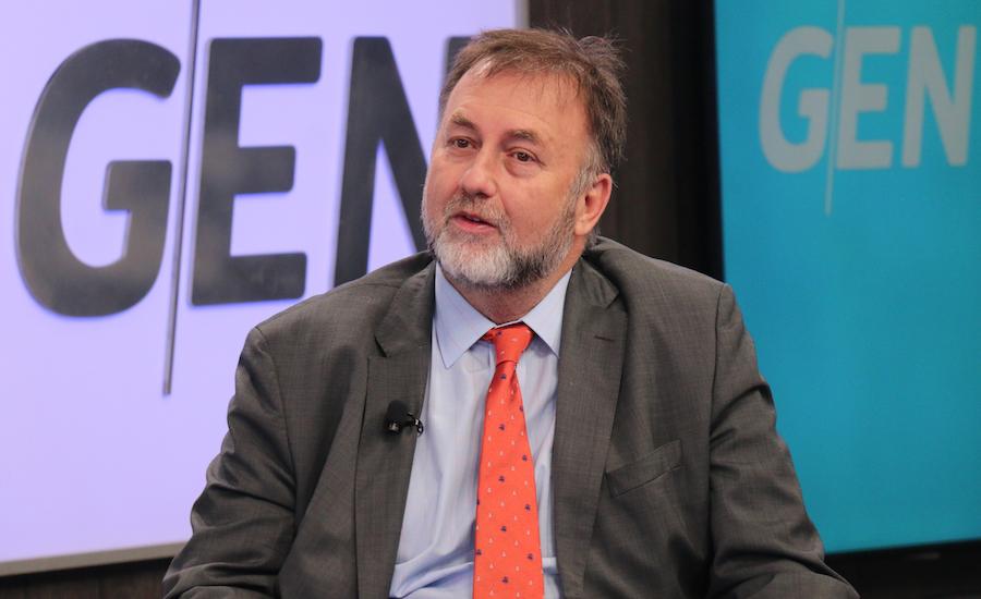 Benigno López en el transcurso de la semana estará presentando renuncia al cargo de ministro de Hacienda para ir al BID.FOTO:ARCHIVO