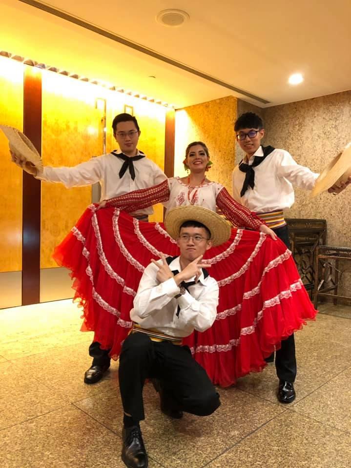 """Como bailarina les enseñé a los taiwaineses a bailar, llevé mi cultura conmigo a todas partes"", contó a La Nación. Foto: Gentileza."