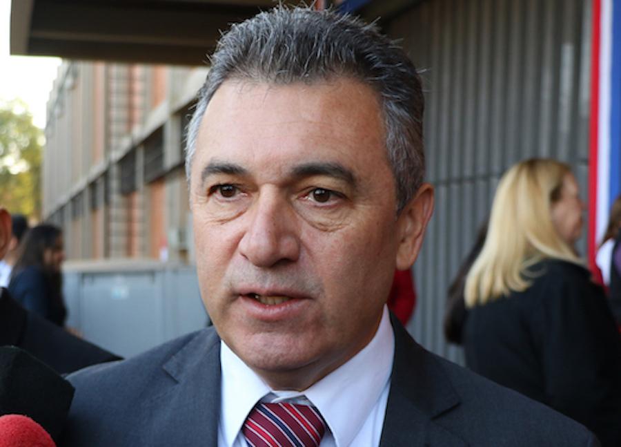 El presidente de la Administración Nacional de Electricidad (Ande), Luis Villordo.FOTO: ARCHIVO