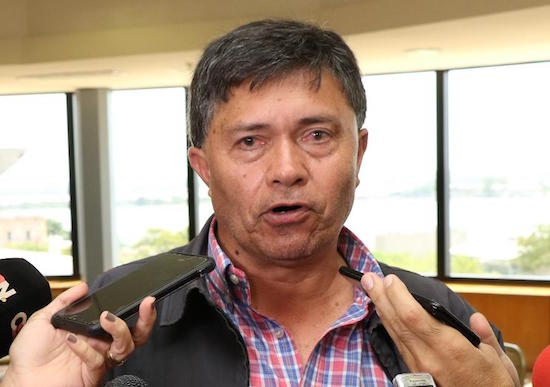 Jorge Galeano, líder de la CNI.