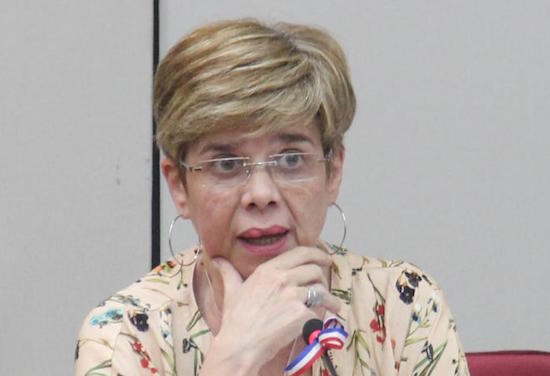 Desirée Masi, senadora del PDP. Foto: Archivo.