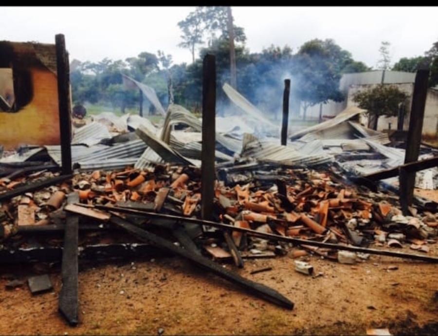 La agroganadera está ocupada ilegalmente desde febrero del 2012.FOTO:GENTILEZA