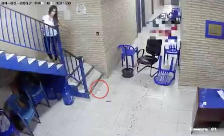El video revelado recientemente muestra cómo fue adulterada la escena del crimen.FOTO:CAPTURA DE PANTALLA