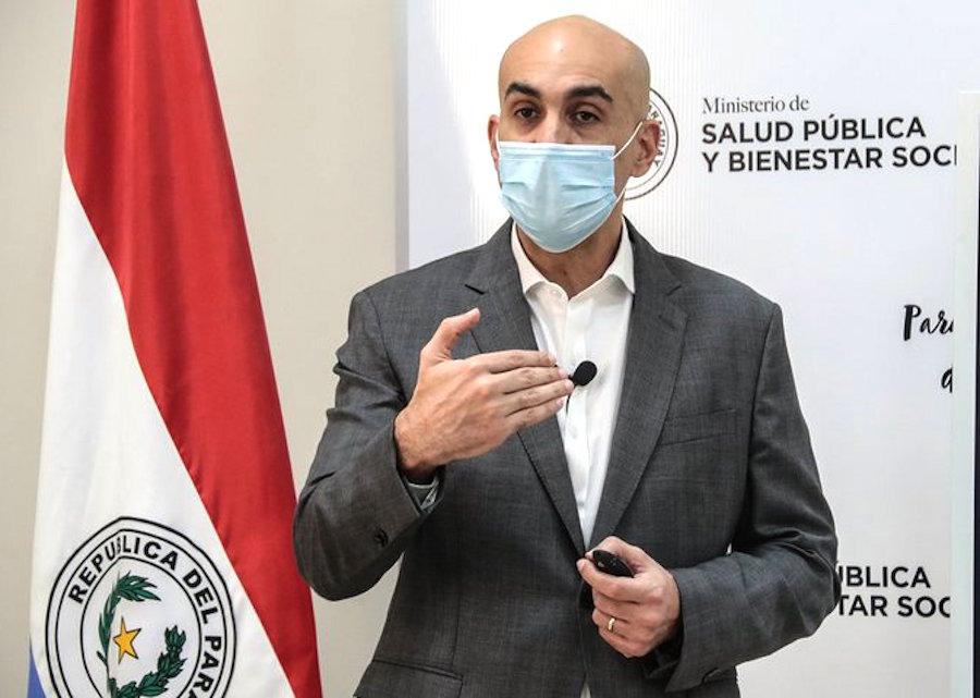 El ministro de Salud dijo que depende de Vigilancia de la Salud para decidir si prolonga la cuarentena social.FOTO:GENTILEZA