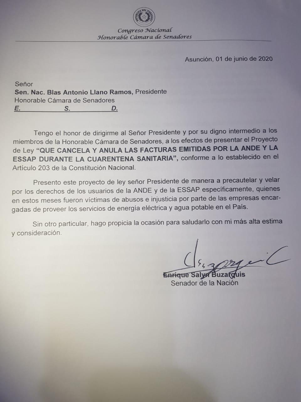 Ante las sobrefacturaciones en la Ande y Essap.