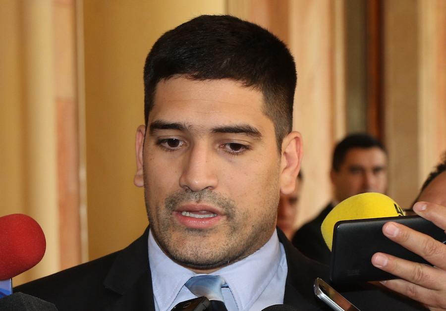 Mauricio Espínola, secretario privado del presidente. Foto: Archivo.