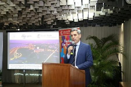 El viceministro de Economía, Humberto Colmán, señaló que en tres pilares se basará el plan para reactivar la economía. Foto: Gentileza.