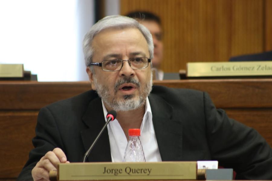 Jorge Querey, senador.