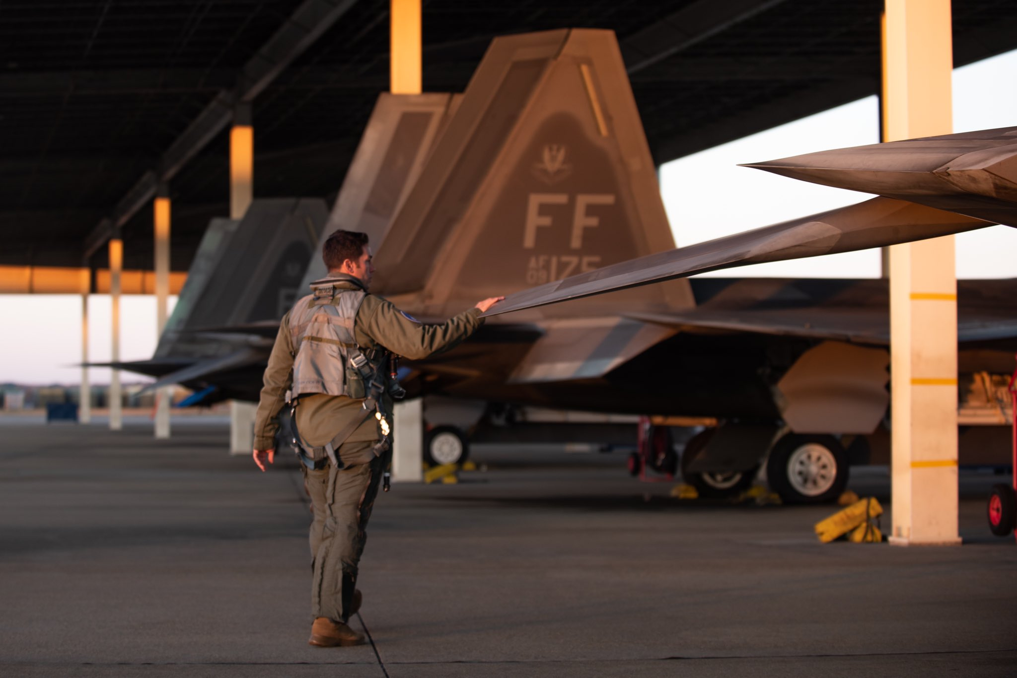 Says Dave Deptula and Douglas Birkey of Mitchell Institute call the F-22