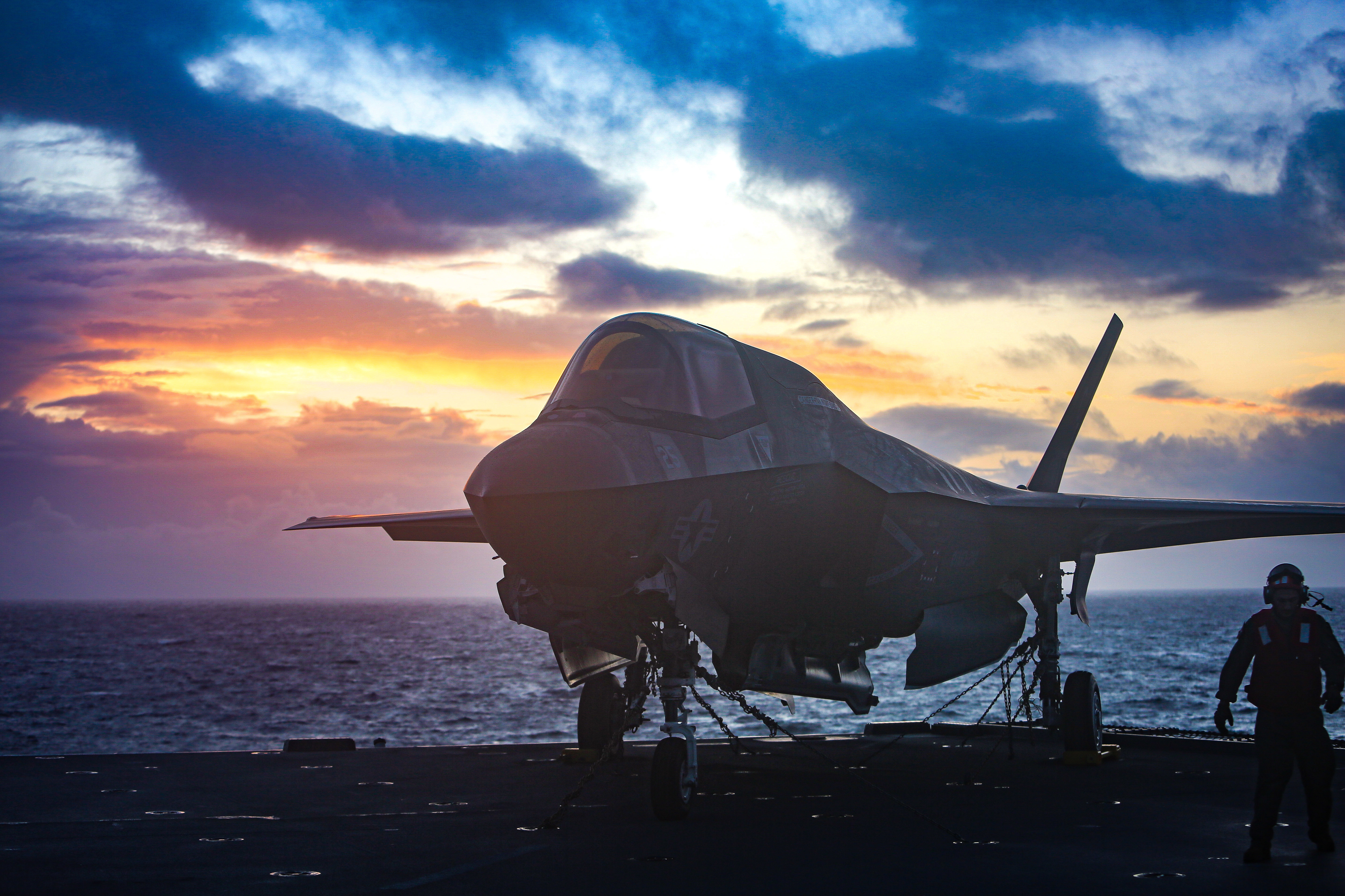 Key F-35 simulator tests won't occur this year and have been pushed to 2021. (1st Lt. Zachary Bodner/U.S. Marine Corps)