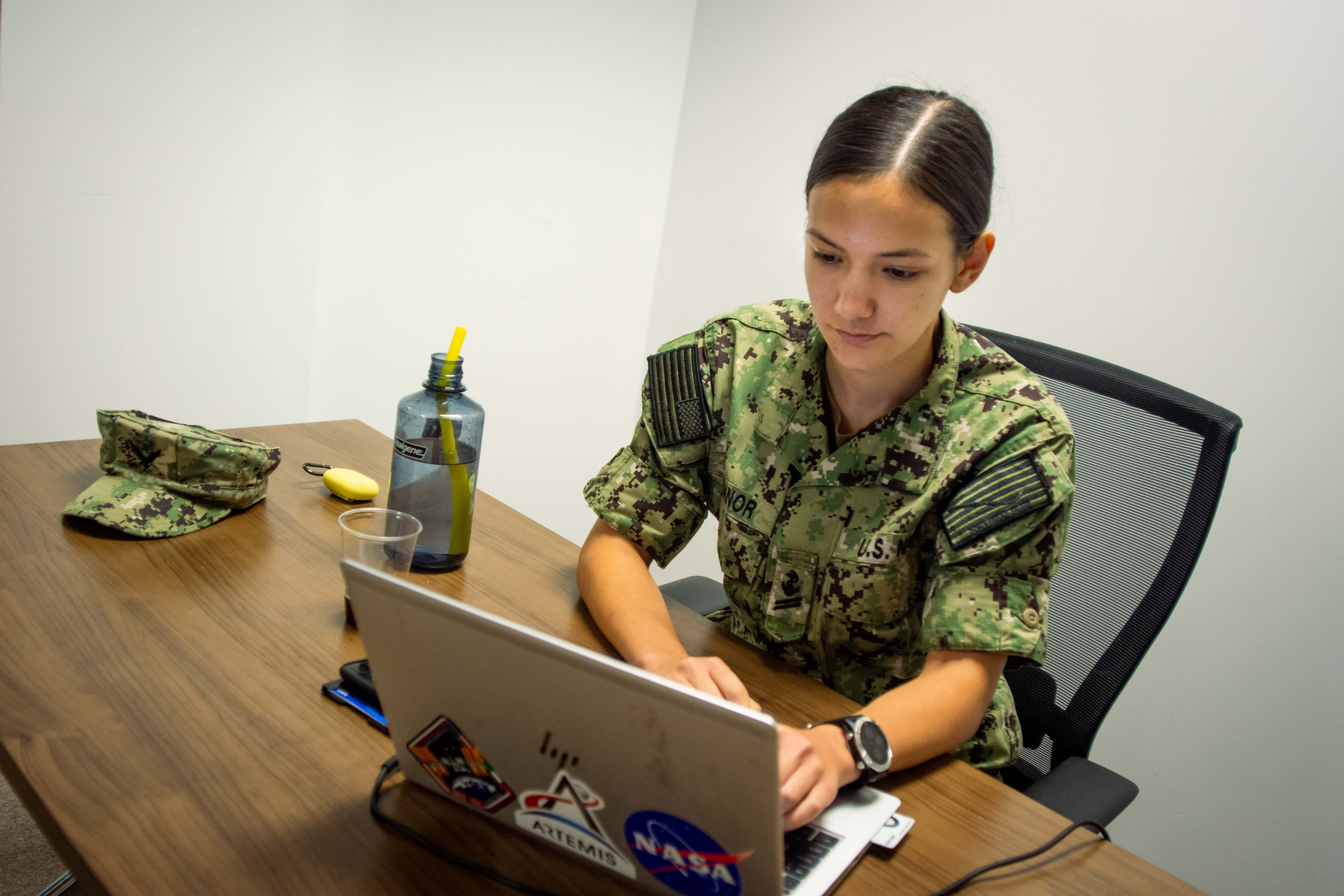 For the first time this year, Cyber Command is using it's premier annual exercise to reevaluate some of its cyber teams. (Aiyana Paschal/U.S Cyber Command)