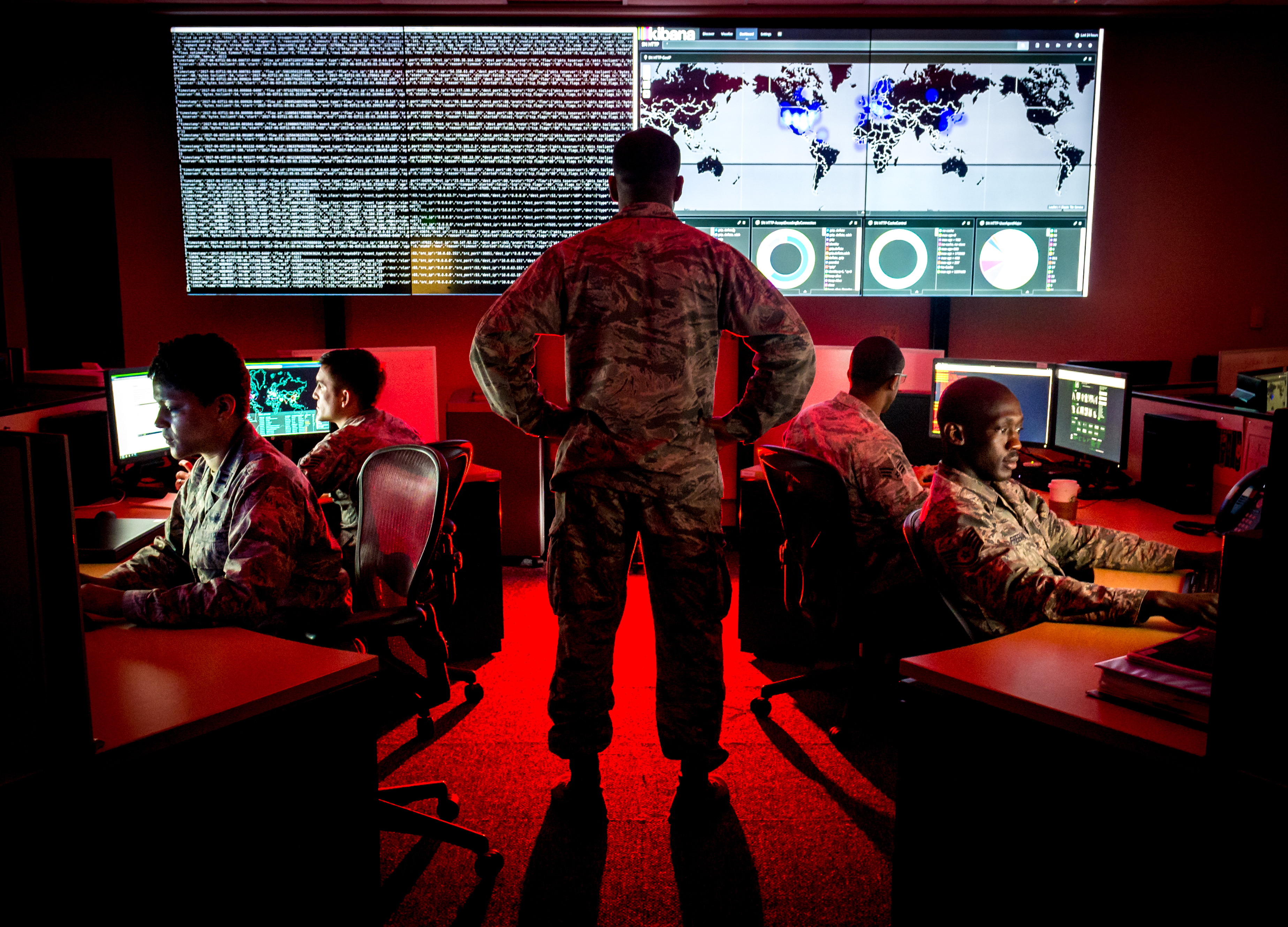 A bipartisan congressional panel is recommending that the Pentagon 'identify, replace, and retire costly and ineffective legacy weapons platforms,' and prioritize artificial intelligence, supply chain resiliency and cyberwarfare to compete with China and Russia. (U.S. Air Force photo by J.M. Eddins Jr.)