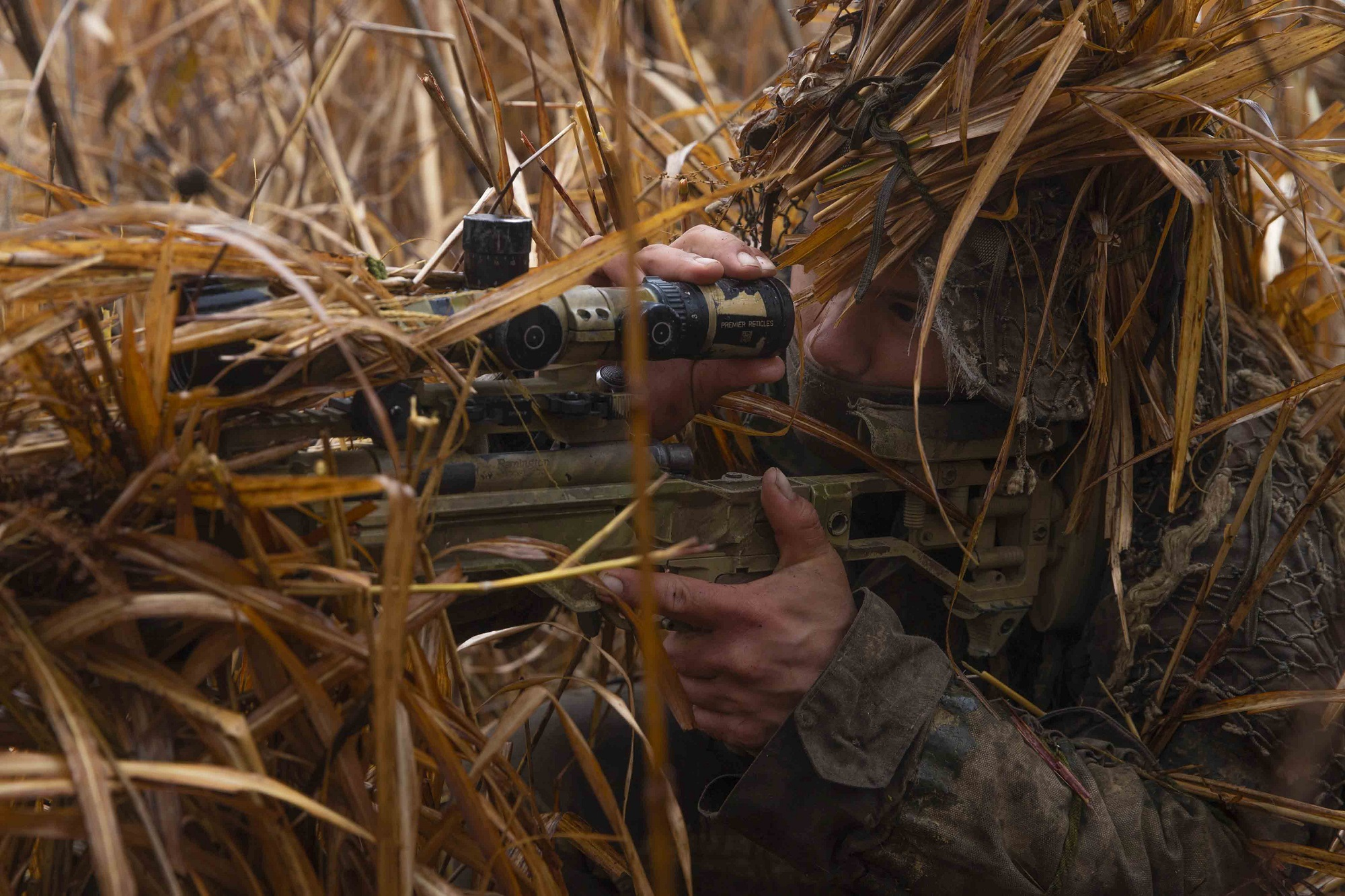 Marine Corps Cpl. Janus Zsofka participates in live-fire training in Niigata, Japan, Dec. 8, 2020, during Forest Light, an annual bilateral exercise with U.S. and Japanese forces. (Lance Cpl. Scott Aubuchon/Marine Corps)