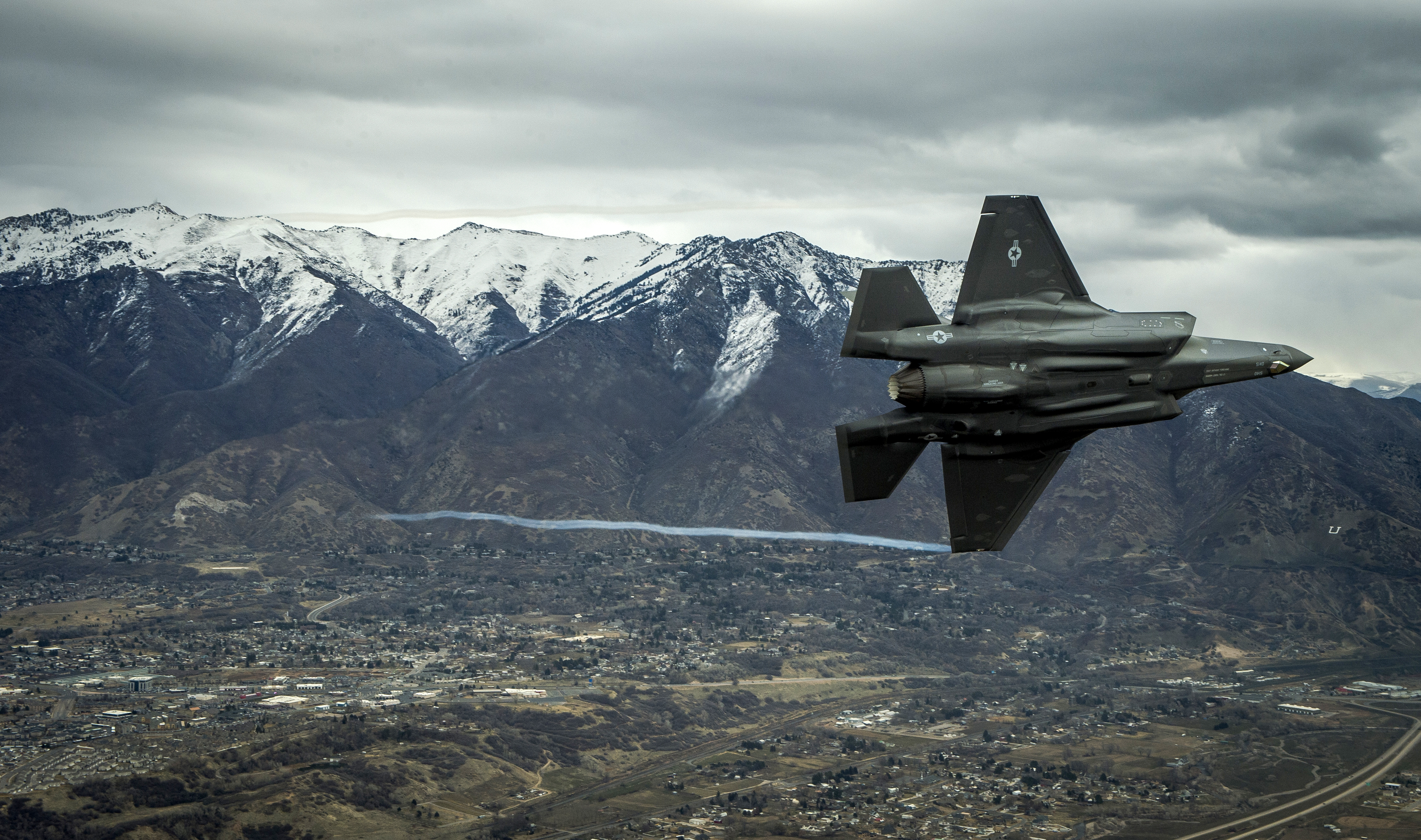 The United Arab Emirates is seeking to buy 50 F-35A fighter jets from the United States. (Staff Sgt. Andrew Lee/U.S. Air Force)