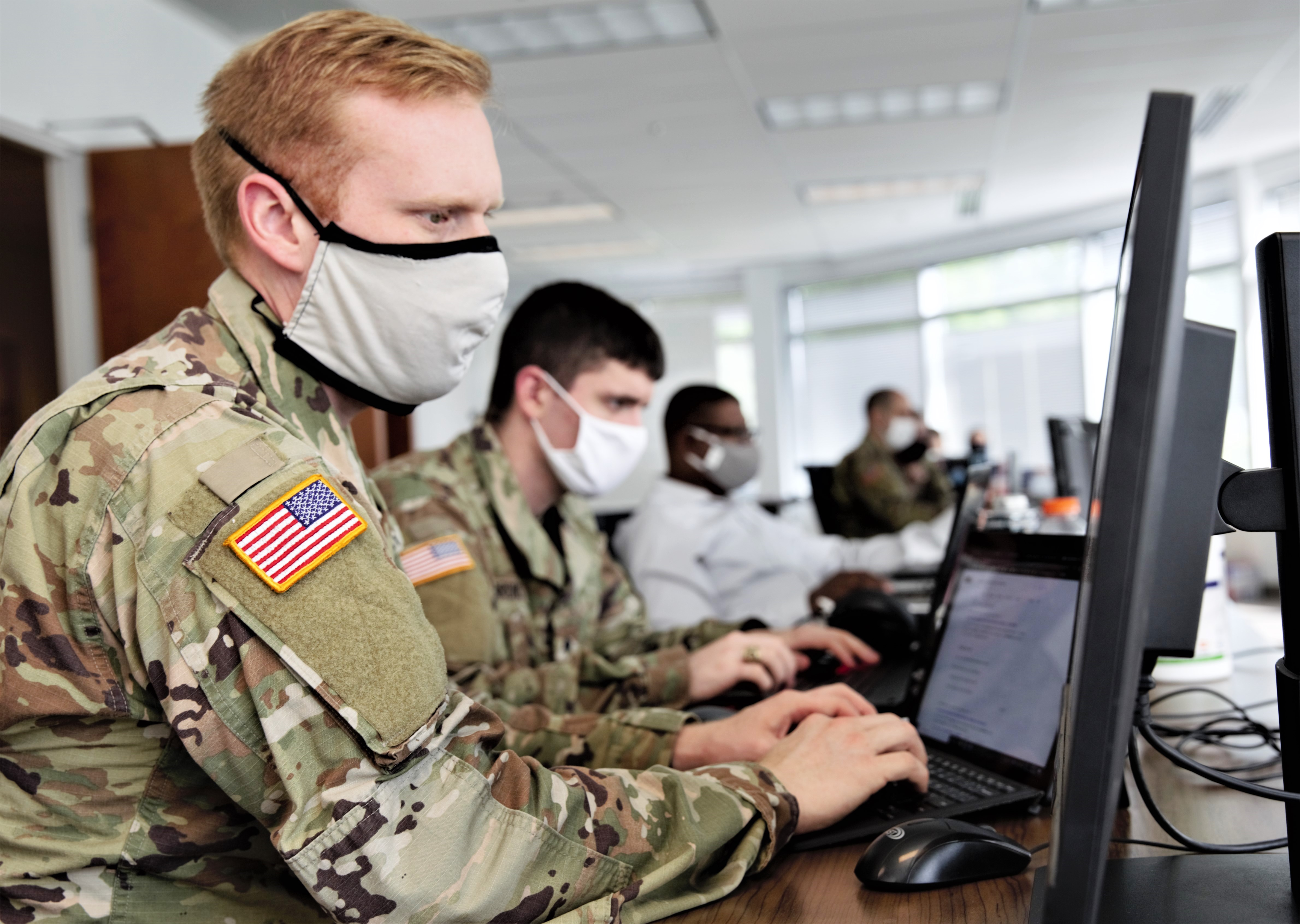 The head of U.S. Cyber Command hinted that the cyber mission force could soon receive a bump in personnel. (MCC Jon Dasbach/U.S. Cyber Command)
