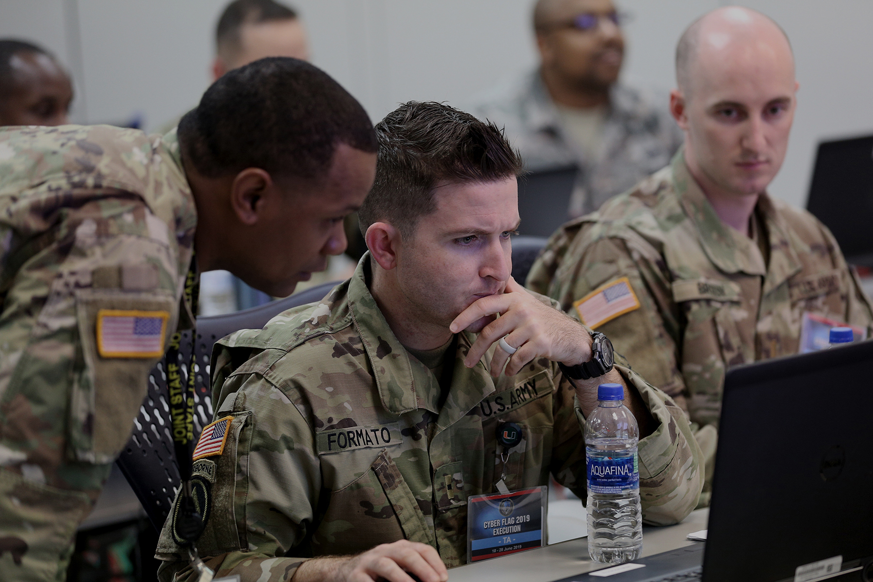 Program officials delivered the second version of the Persistent Cyber Training Environment to U.S. Cyber Command. (U.S. Cyber Command)