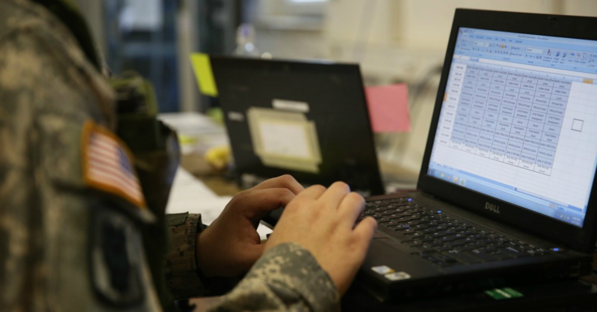 The U.S. Army is working on a new digital strategy to prepare for the future fight. (Spc. Brian Chaney/U.S. Army)
