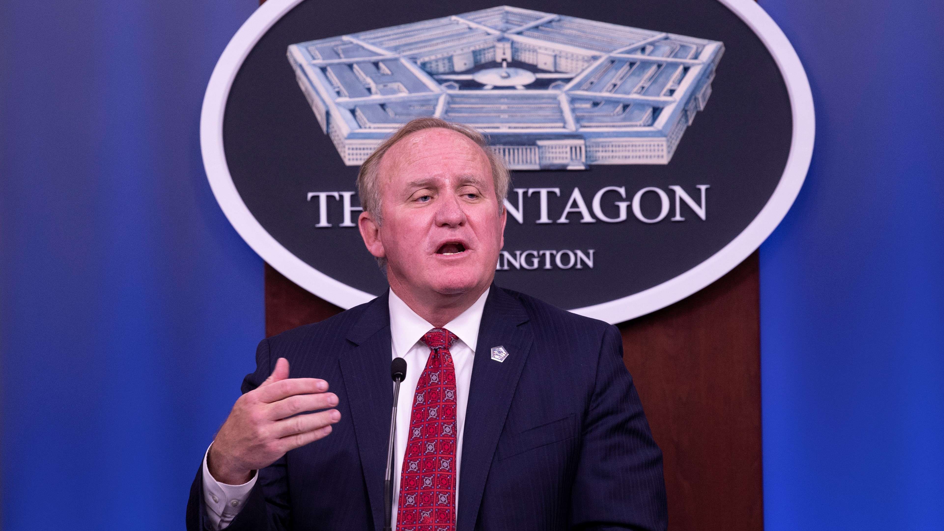 Director of Washington Headquarters Services Thomas Muir will be the Pentagon's point person for the Biden-Harris transition. (Marvin Lynchard/DoD)