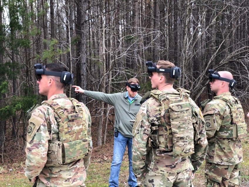 Army PEO C3T wants to know if there are additional vendors with radio capabilities that can integrate with the service's Integrated Visual Augmentation System. (U.S. Army)