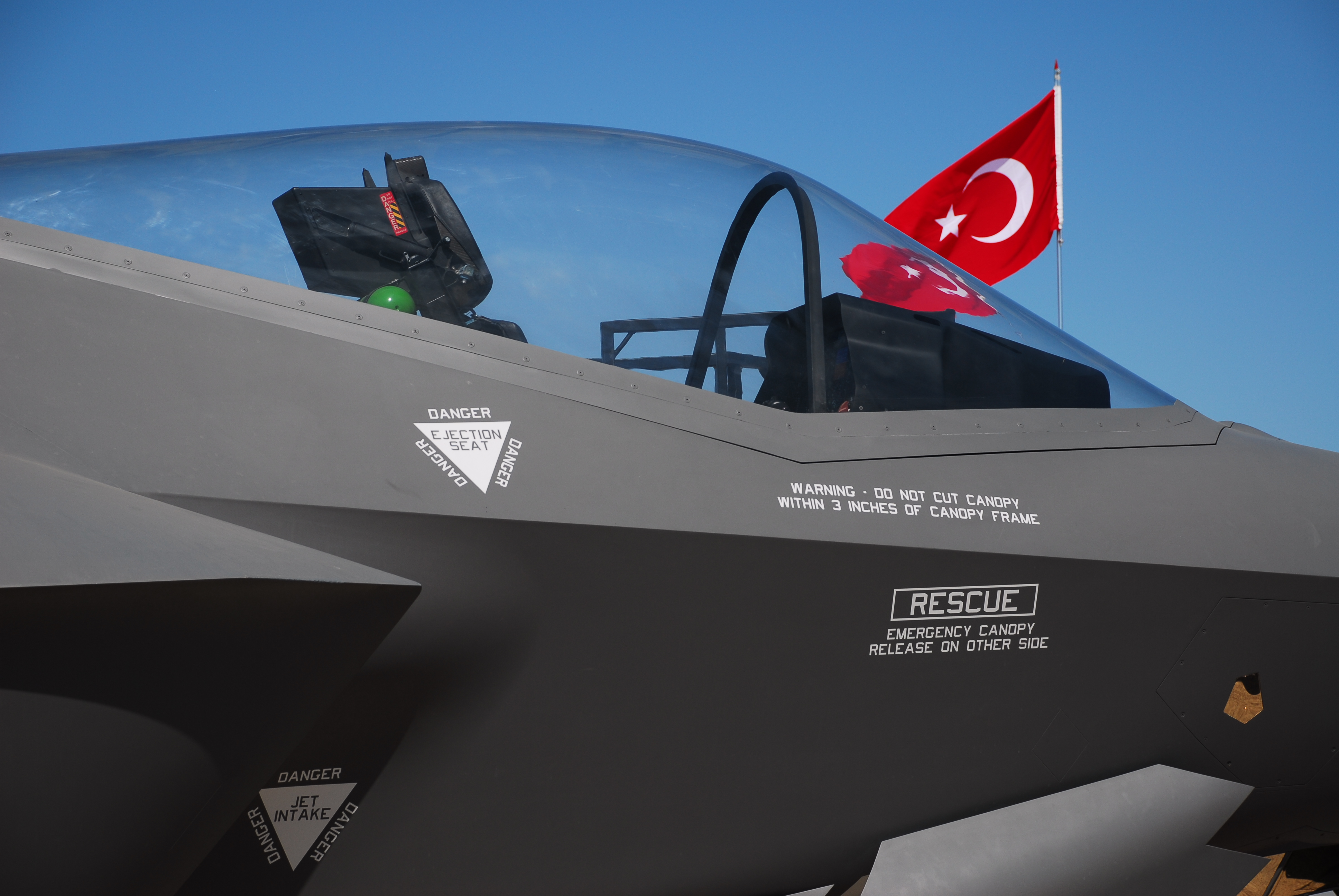 After a year of speculation about what would happen to Turkey's F-35s after the country was ousted from the Joint Strike Fighter program in 2019, the Pentagon announced plans to buy eight F-35A jets, originally built by Lockheed Martin for Turkey, as part of a $862 million contract modification. The deal also contained an additional six F-35As built for the U.S. Air Force and modifications that will bring the Turkish jets in line with the U.S. configuration. (dardanellas/Getty Images)