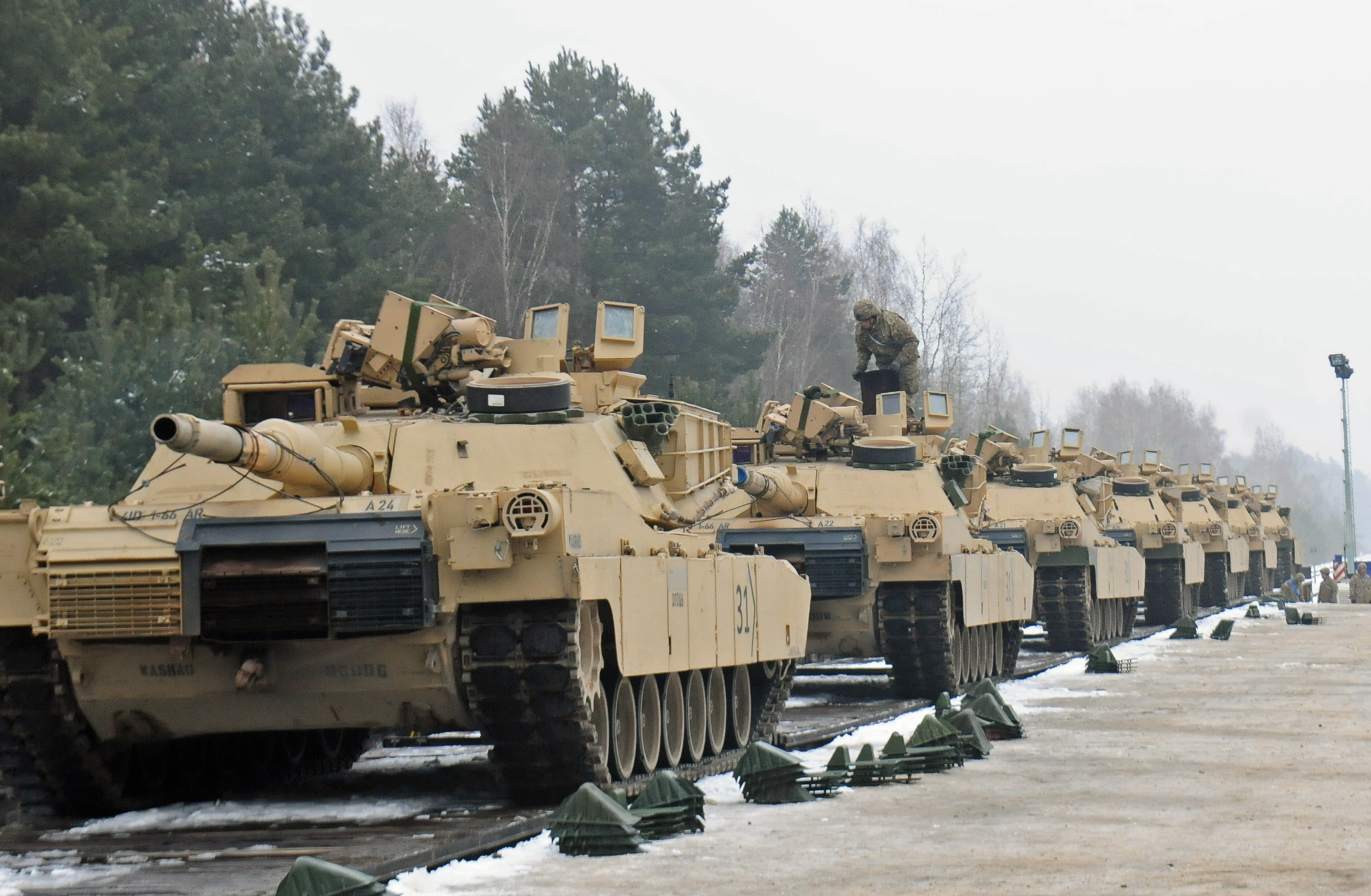 Both Democrats and Republicans on the House Armed Services Committee heavily questioned the Pentagon's plan to move 12,000 troops out of Germany, more than 6,000 of those out of Europe entirely. (Staff Sgt. Corinna Baltos/Army)