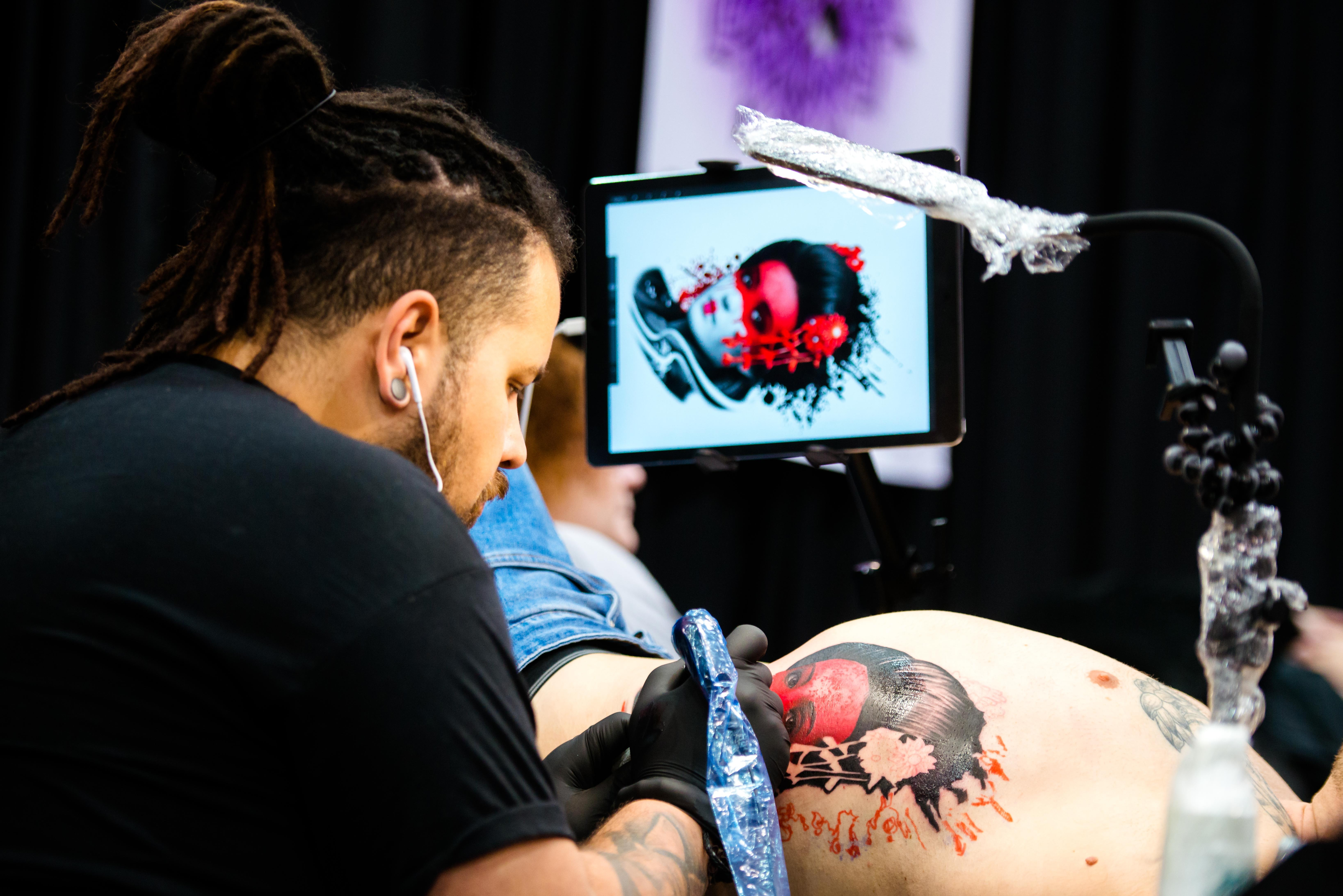 Creating A Buzz At Telford Tattoo Freeze With Pictures