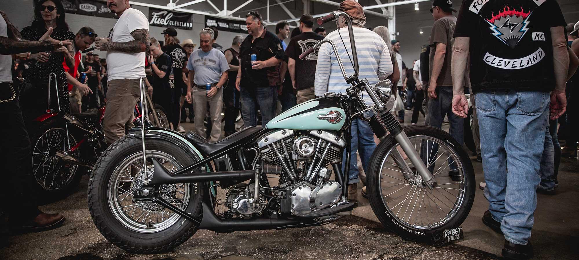 Harley-Davidson mint custom bike.