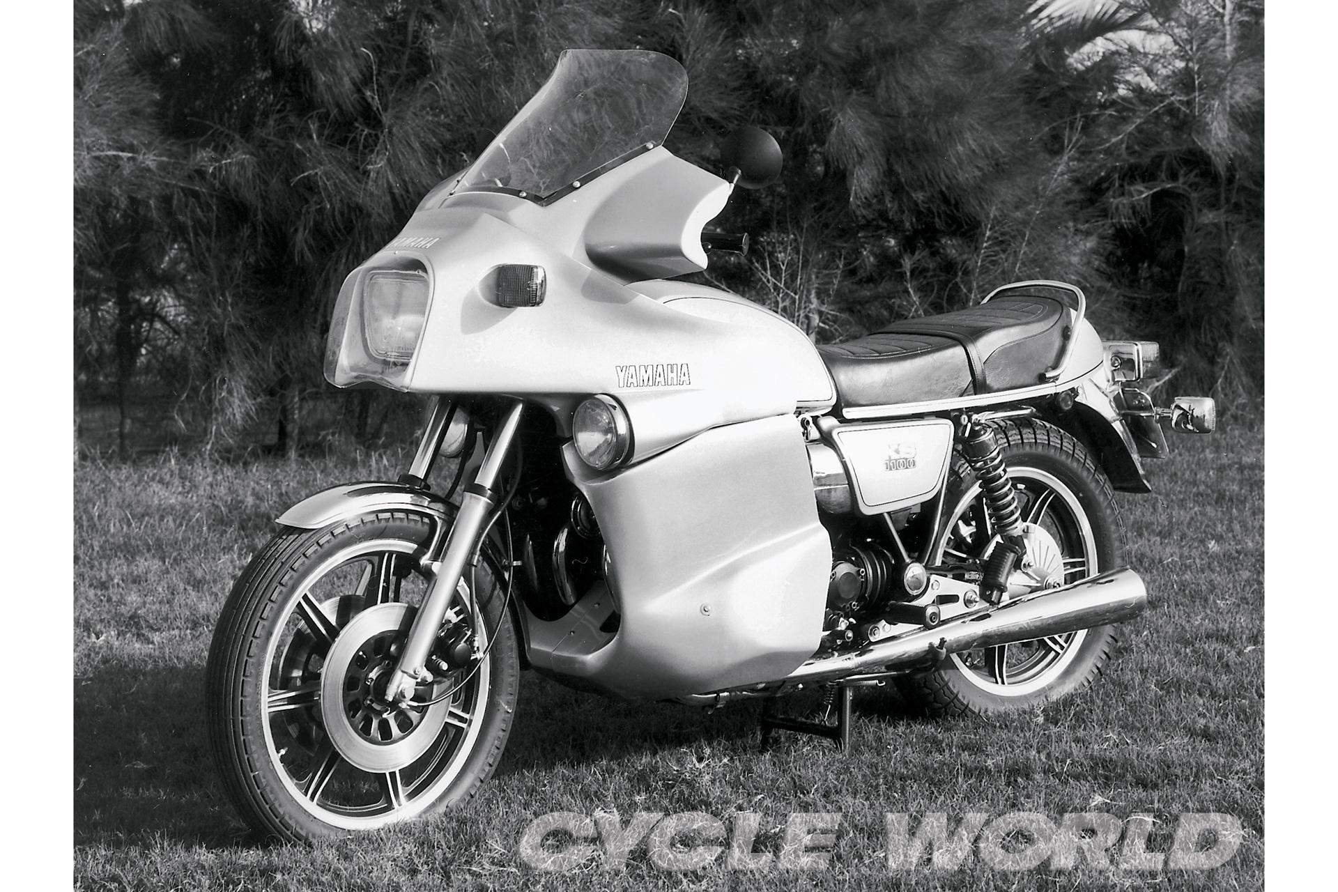 John Mockett's Yamaha XS11