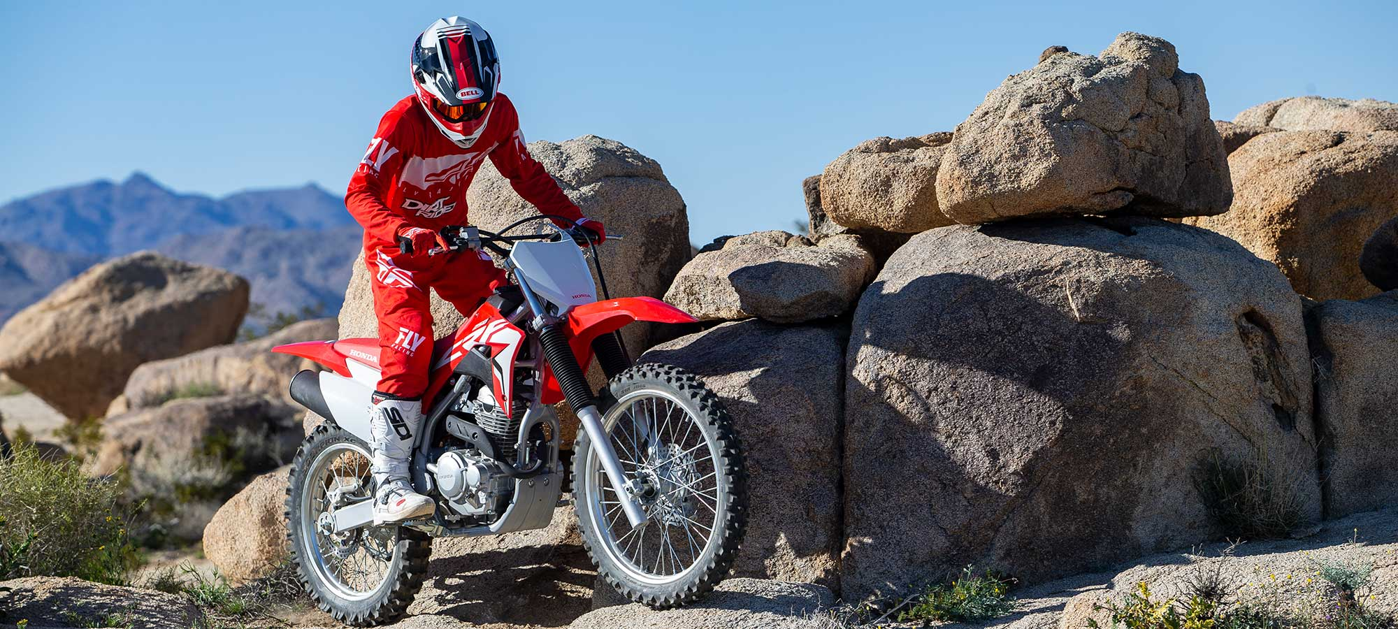 First ride review of the 2019 Honda CRF250F.
