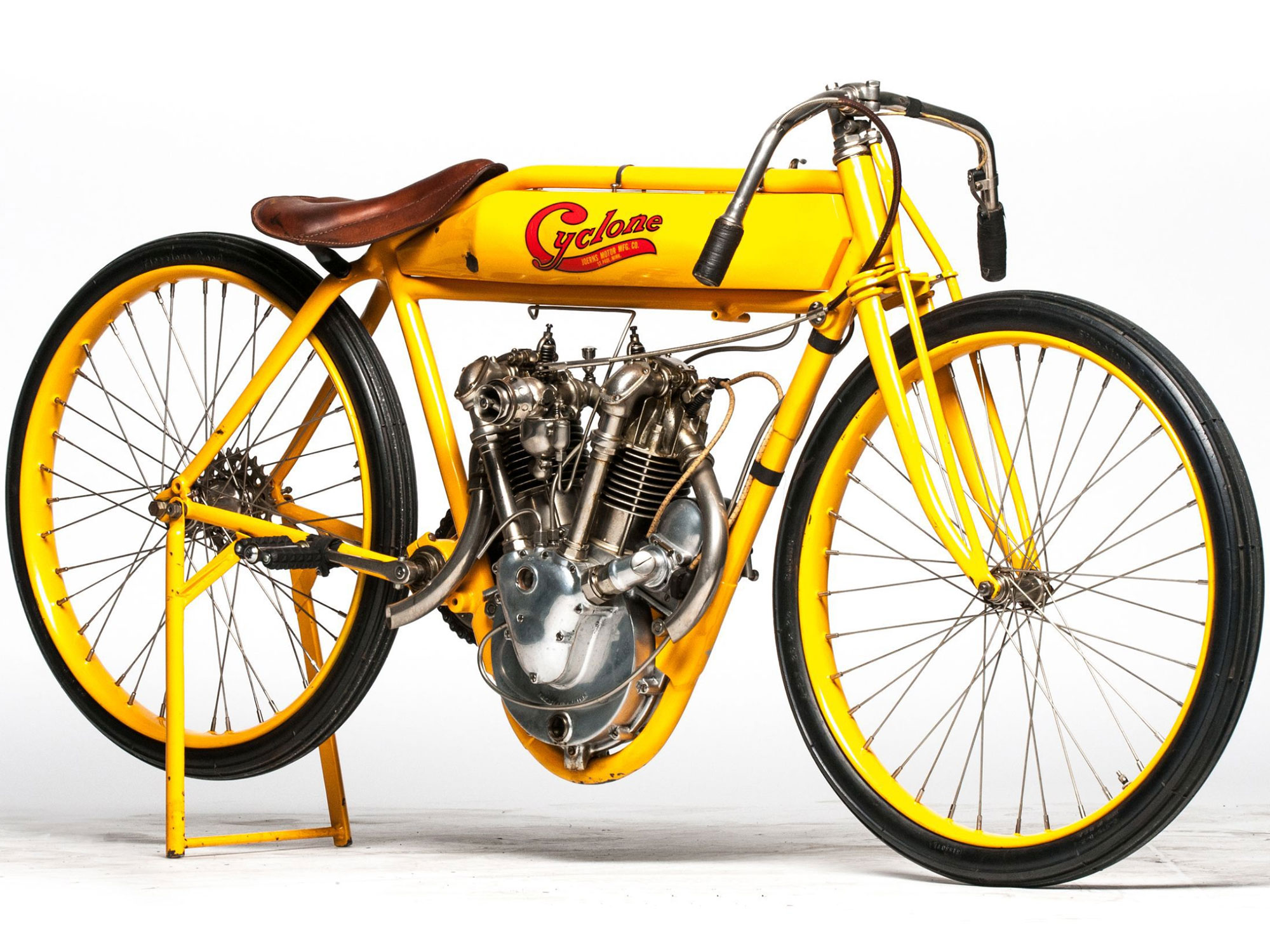 1915 Cyclone board track racer