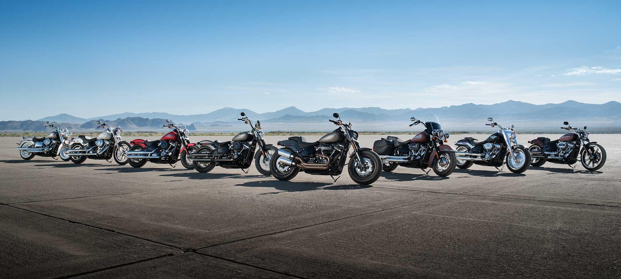 2018 Harley-Davidson Softail Lineup