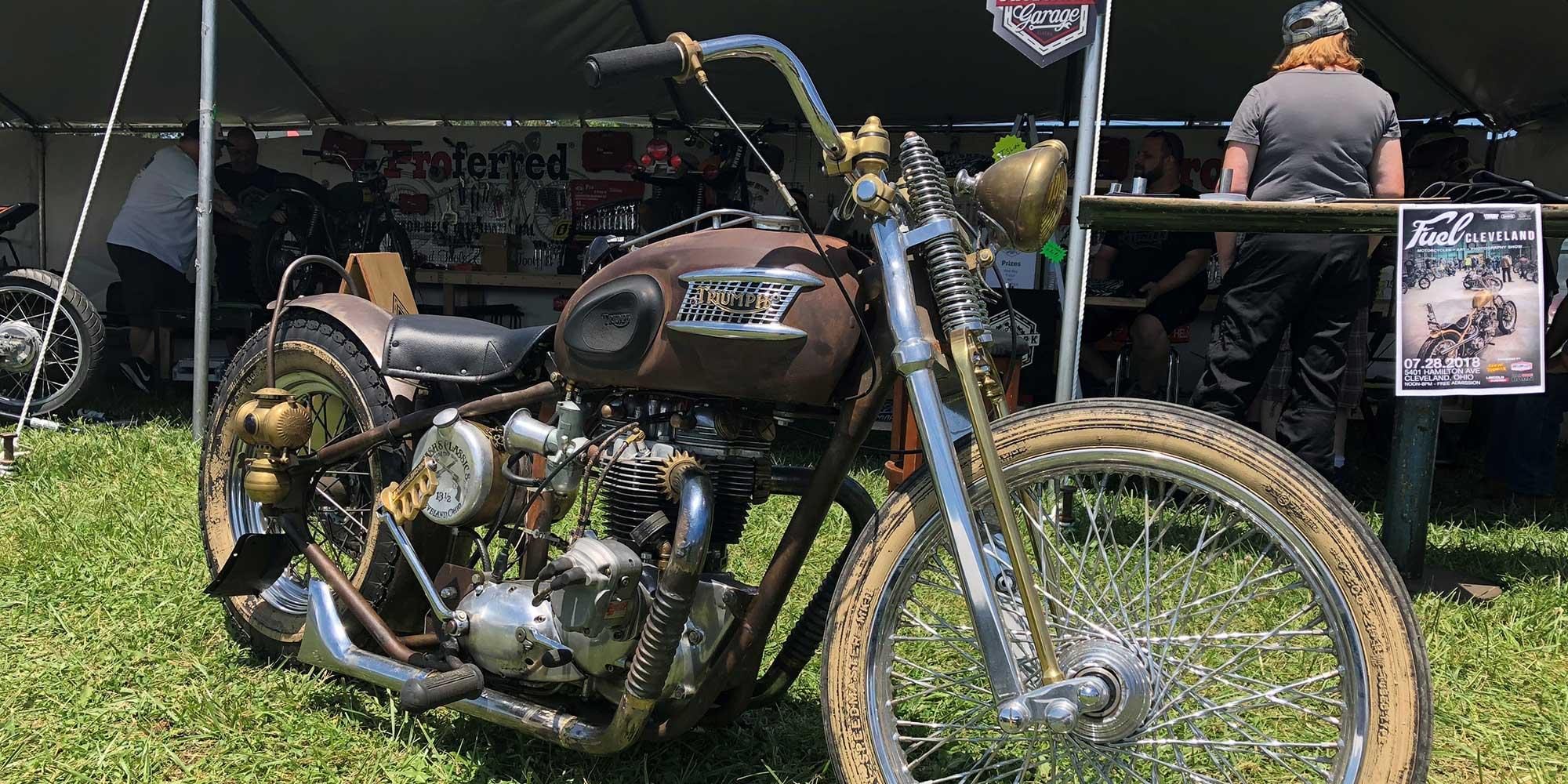 Vintage Triumph Spring - AMA Vintage Motorcycle Days