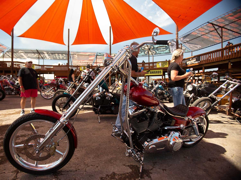 Custom motorcycle Sturgis 2020
