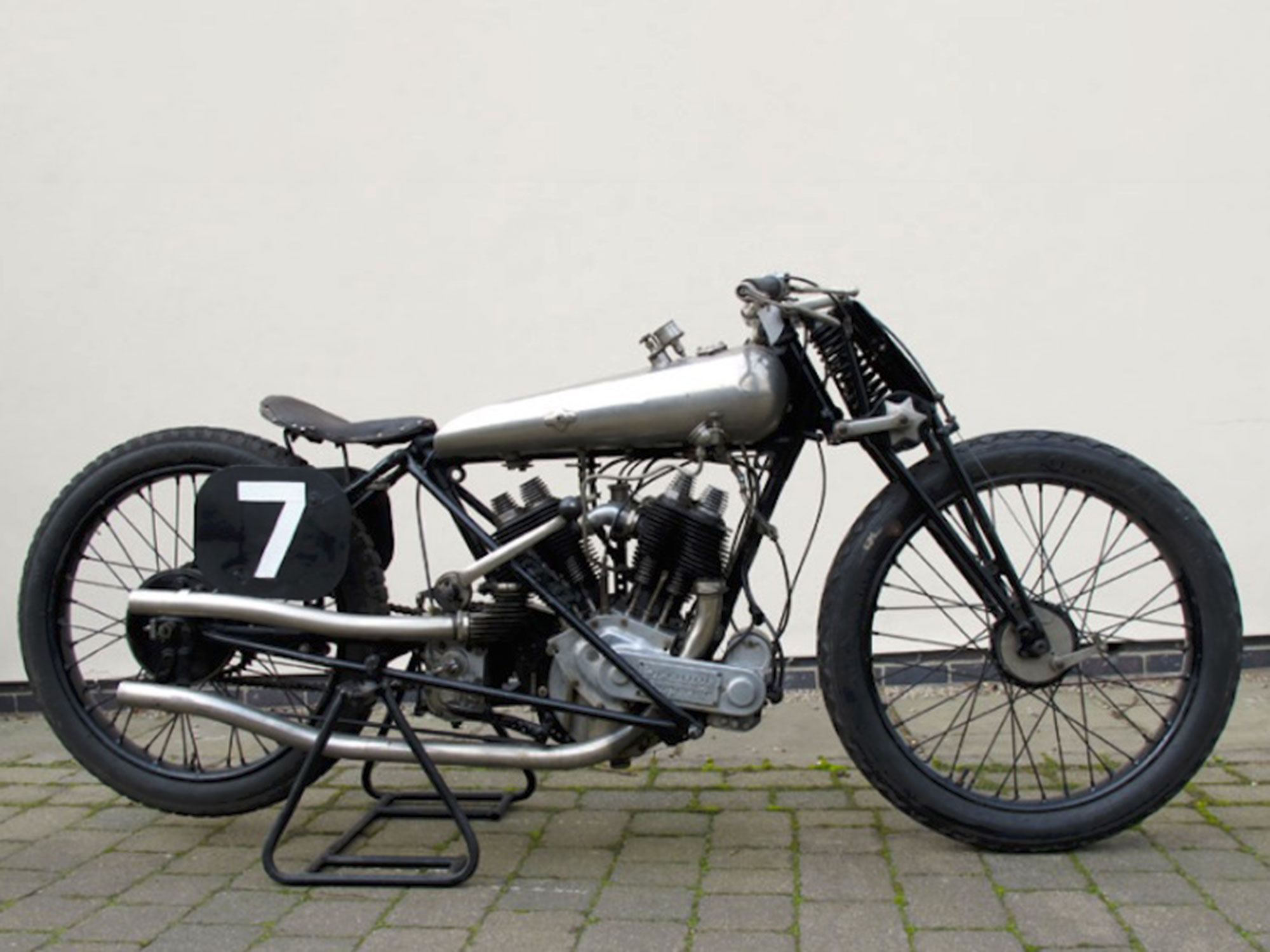"""1922 Brough Superior SS80 """"Old Bill"""""""