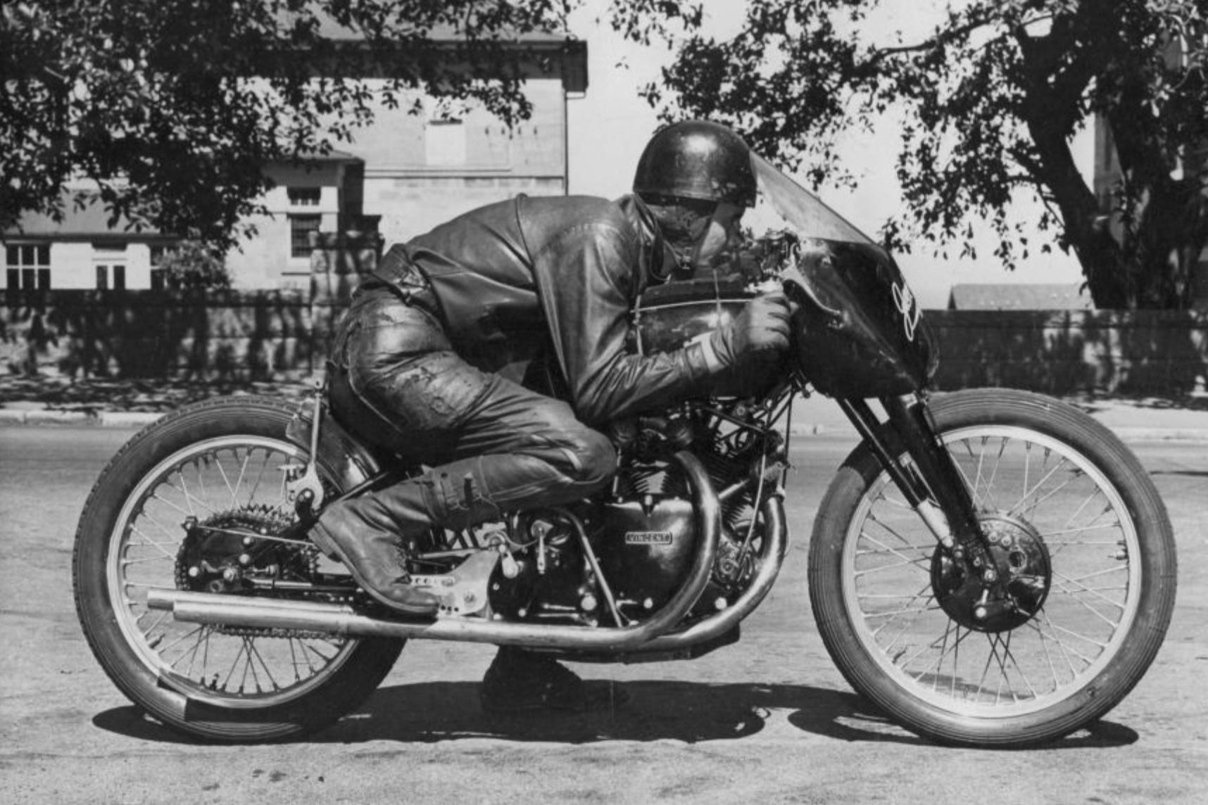 1951 Vincent Black Lightning.