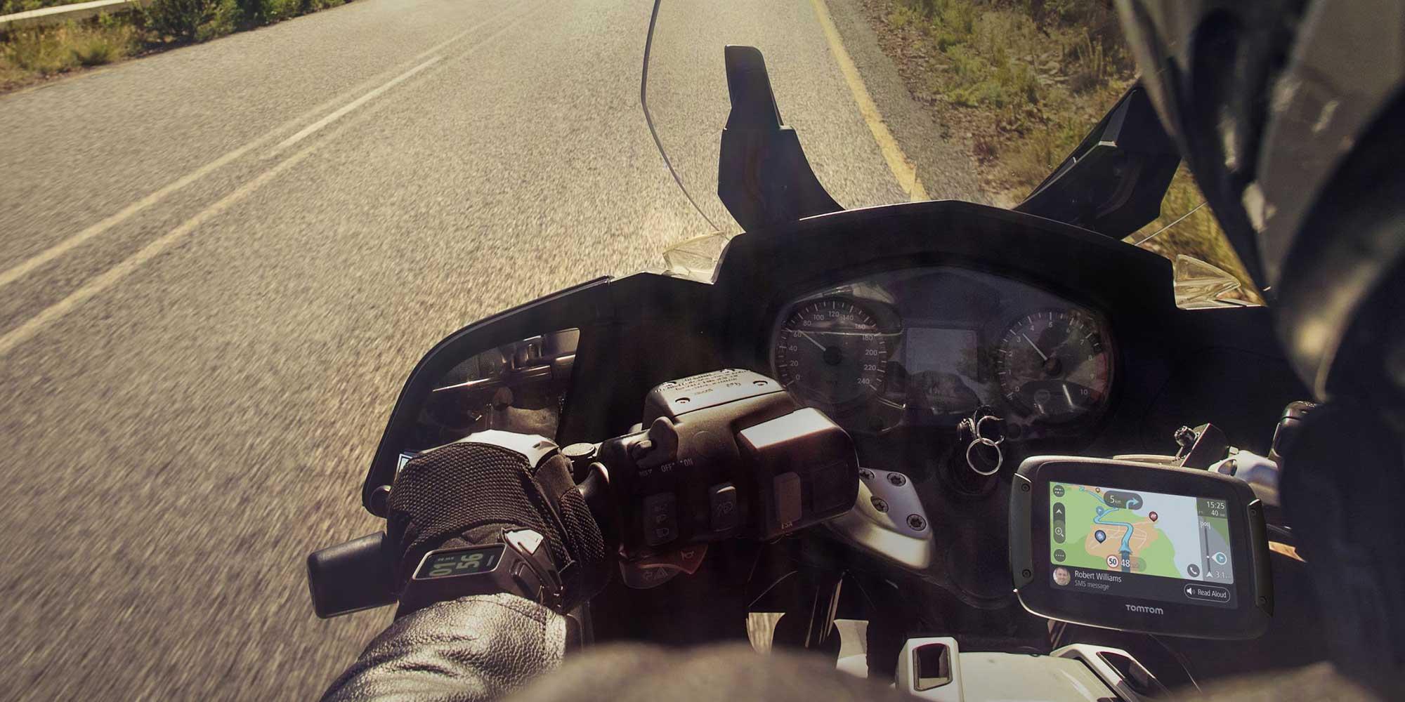 TomTom's New Rider 550 GPS