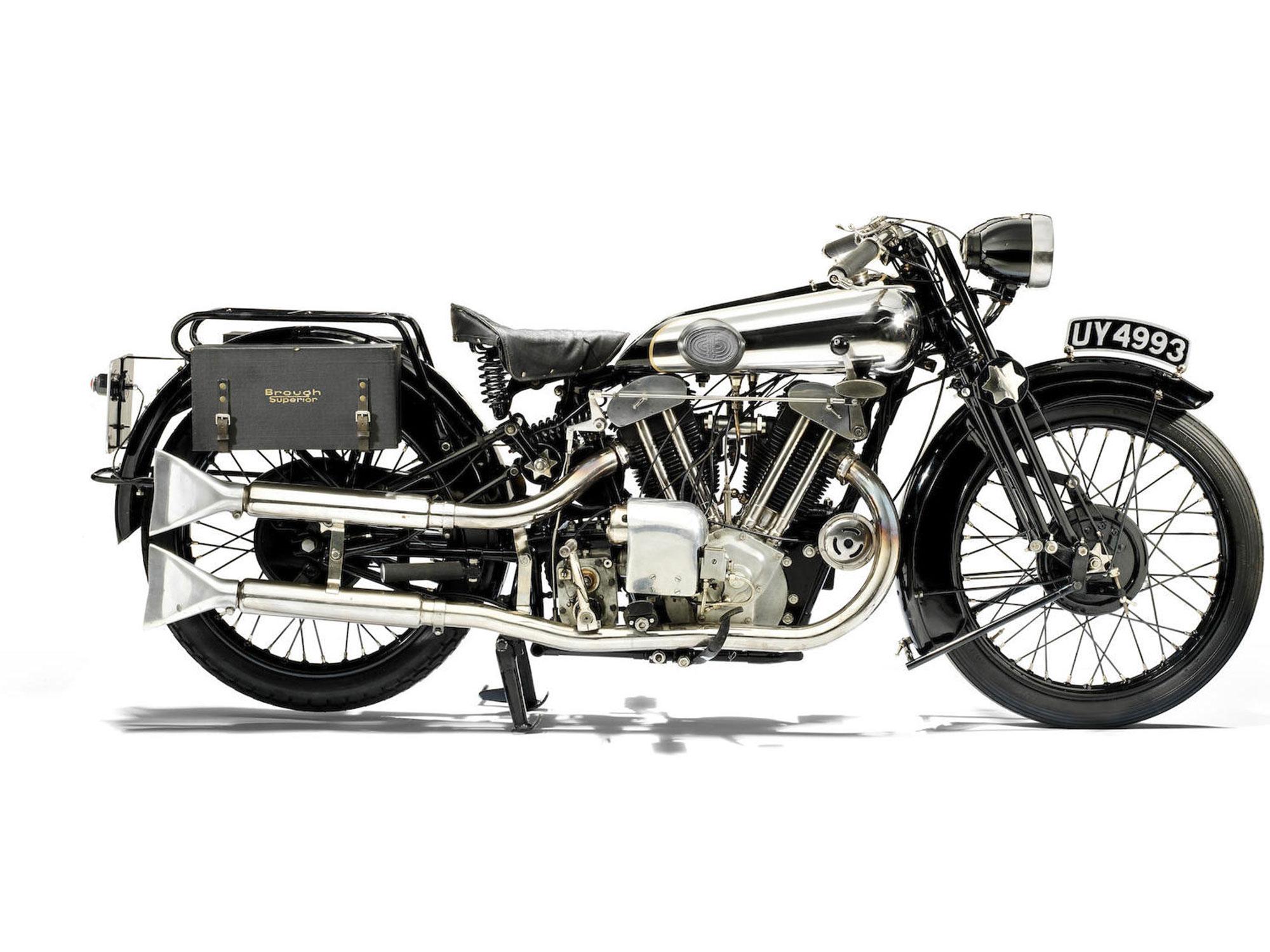 1929 Brough Superior SS100 Alpine Grand Sports