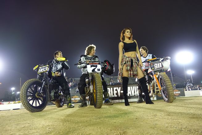 born free stampede flat track race