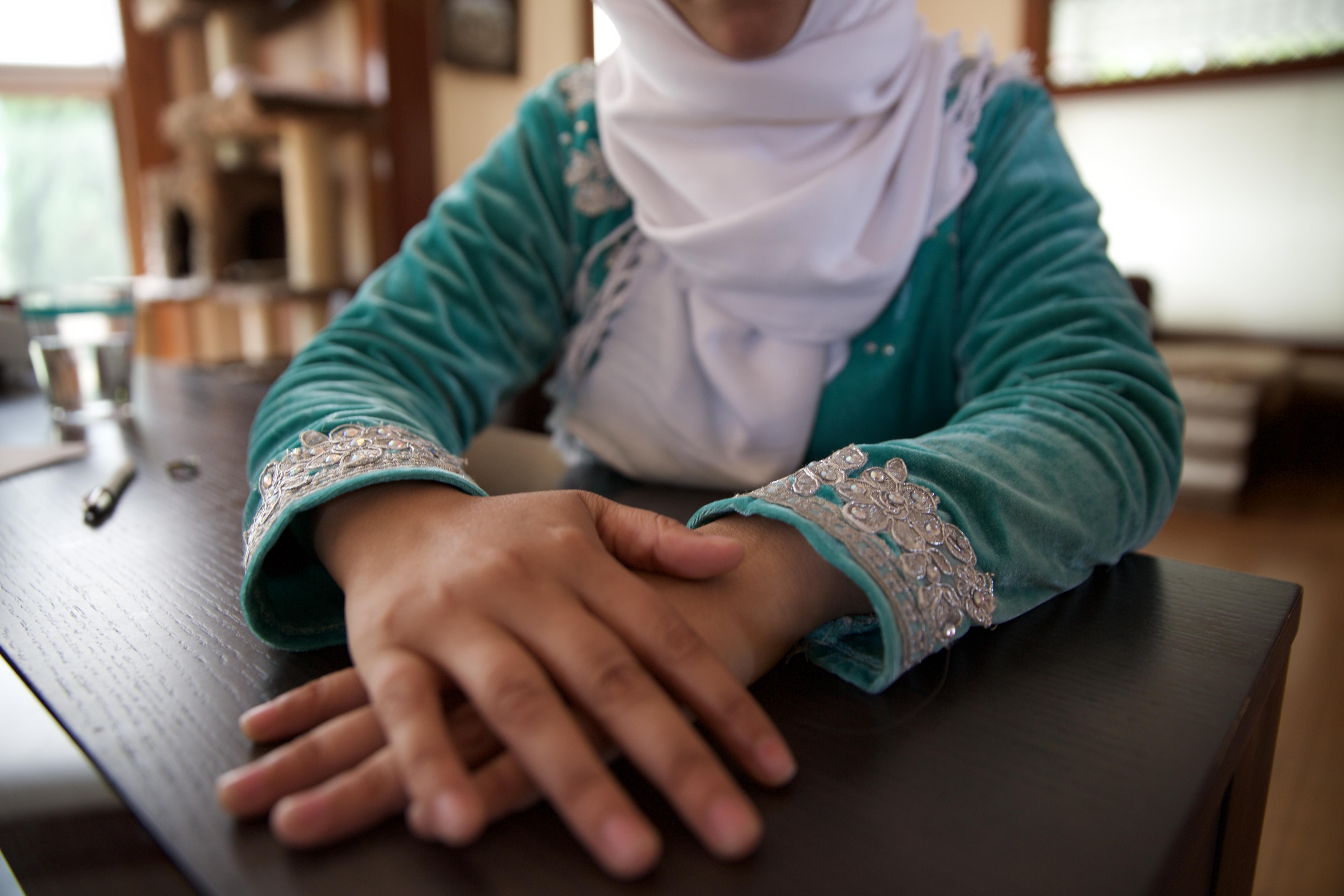 Hassania, a Muslim immigrant from Morocco, said her visit to Portland for a program on female empowerment was soured by an experience she had with someone on the street.