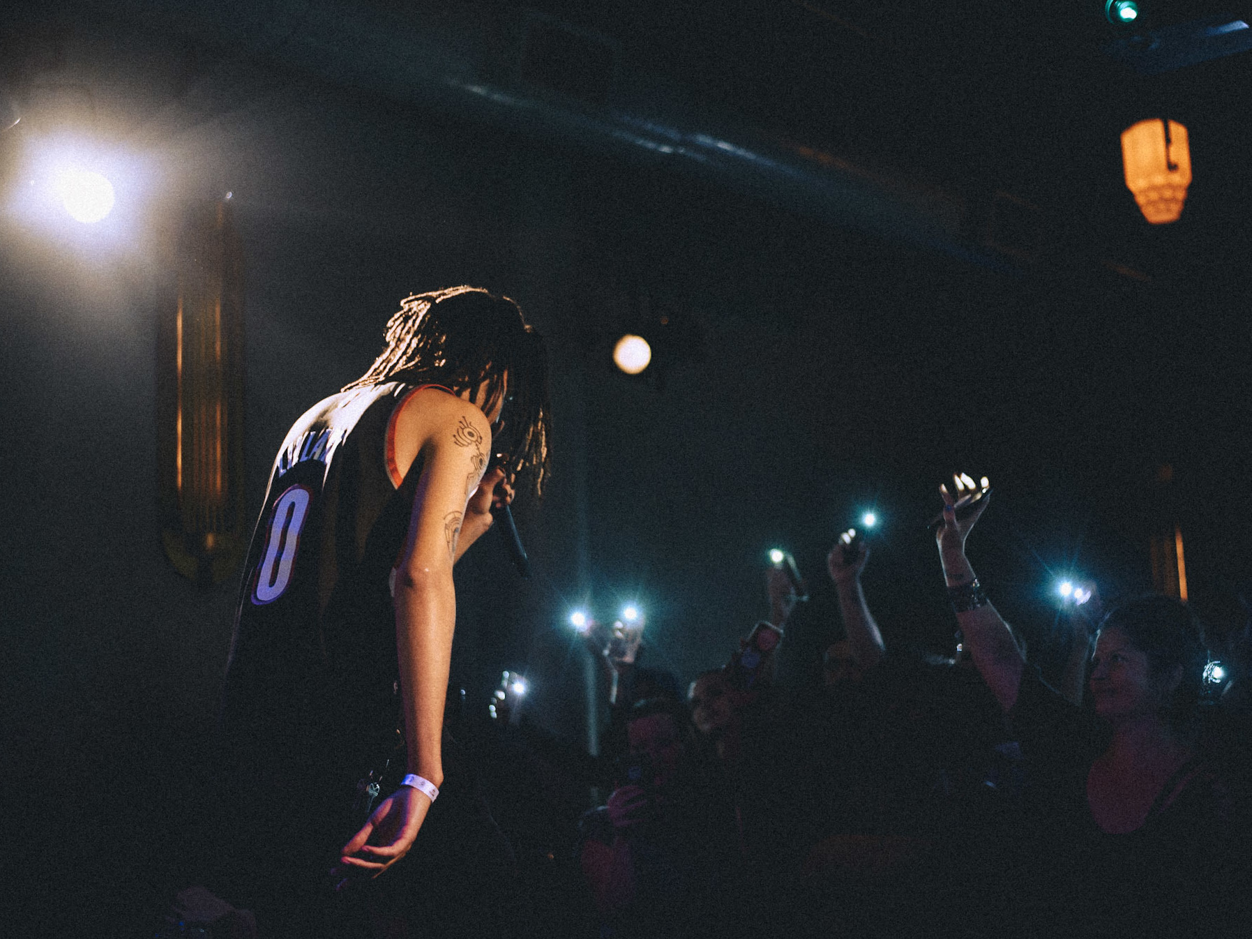 Portland-based rapper Danny Sky performs at Kelly's Olympian as part of the hip-pop showcase, The Thesis.