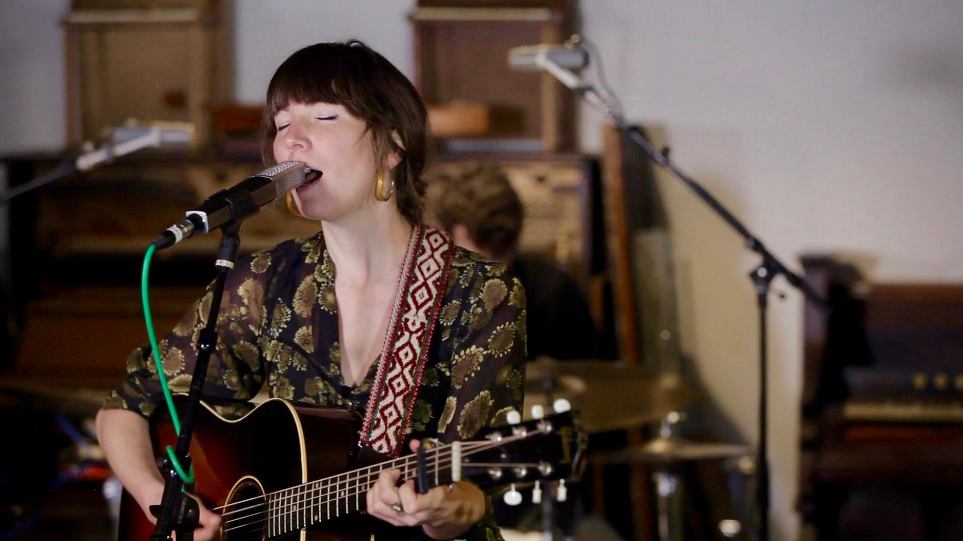 Anna Tivel performs an opbmusic Live Session at Type Foundry Studio in Portland