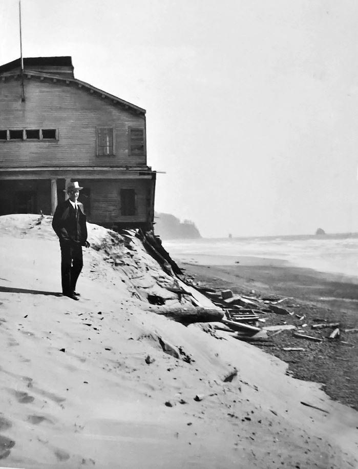By 1926 the sand under the natatorium was beginning to be washed away.