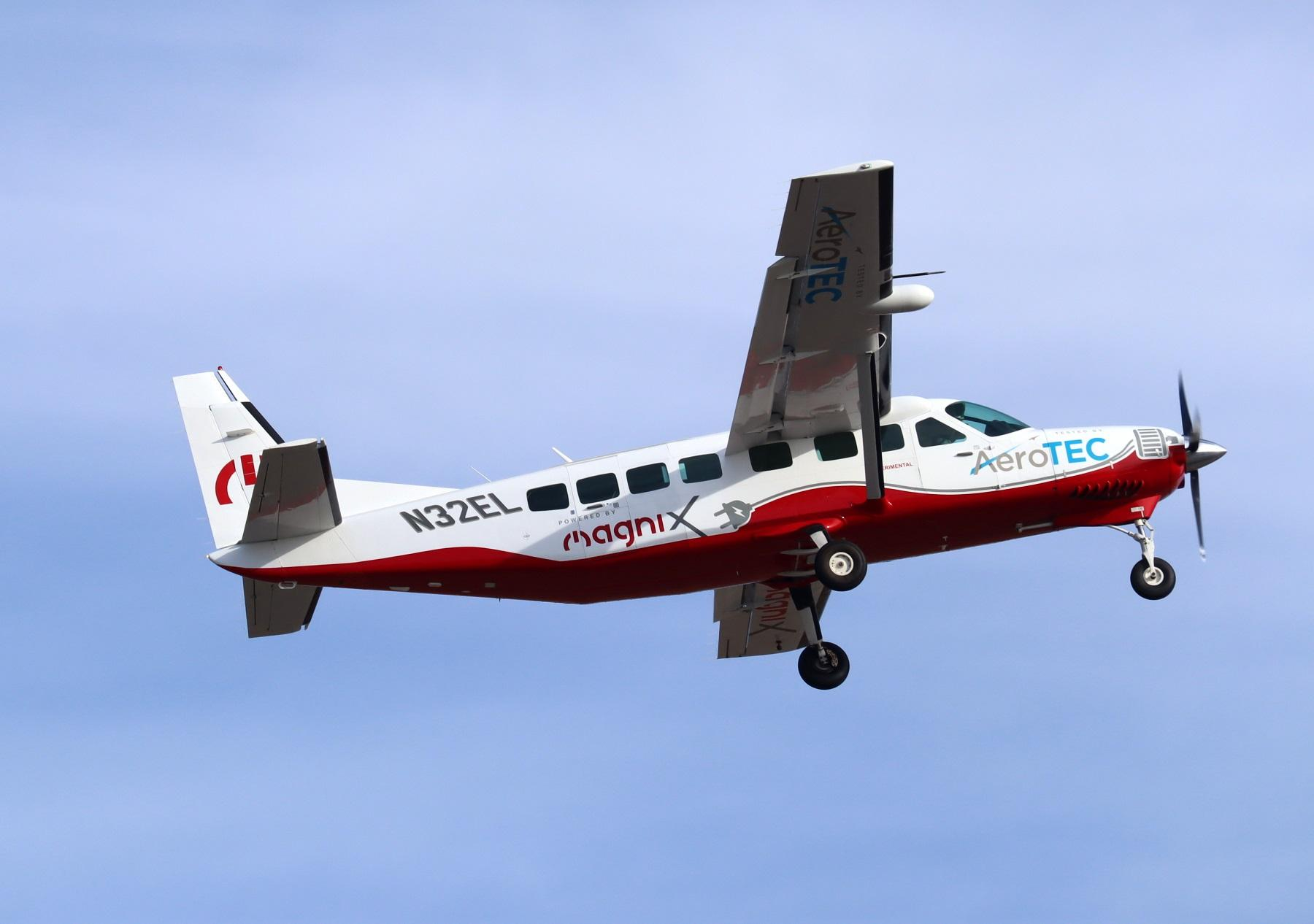All Electric Commuter Plane Begins Flight Testing In Moses Lake Opb