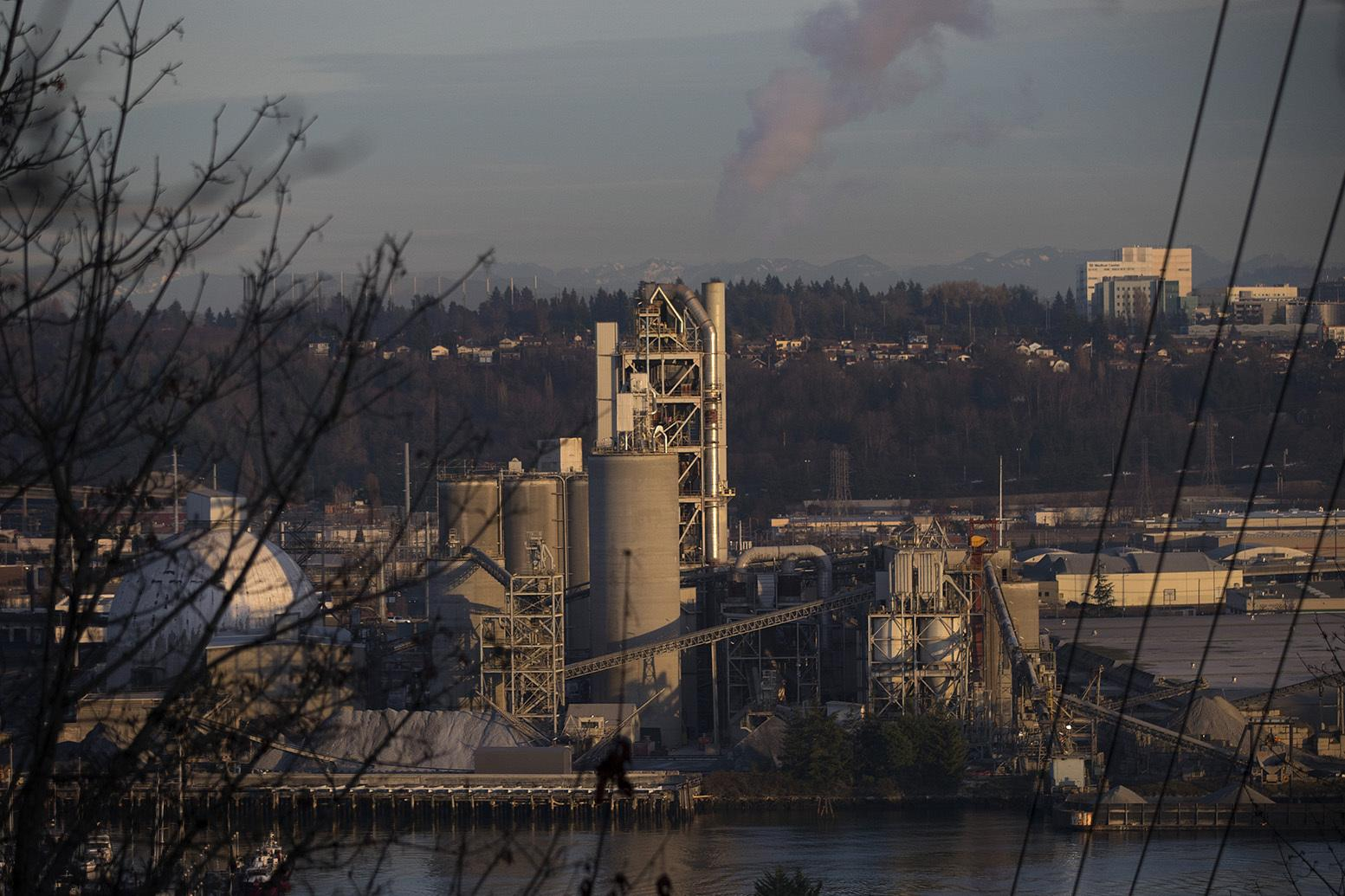 Ash Grove Cement Company is shown on Tuesday, December 12, 2017, in Seattle.