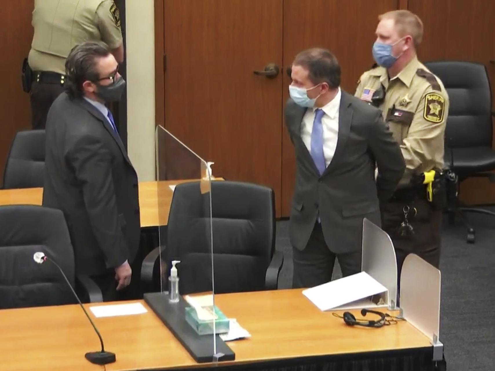 Dereck Chauvin Found Guity Of George Flyod's Murder