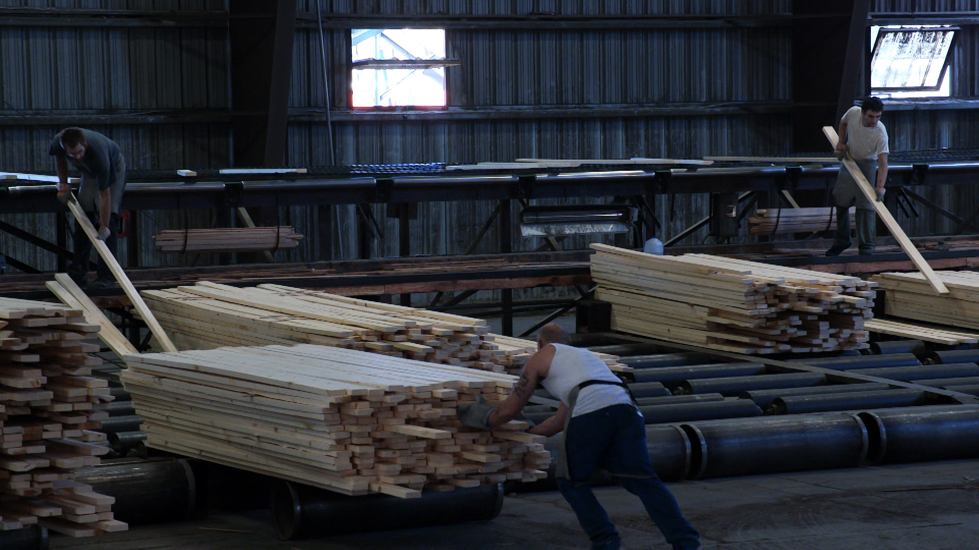 The Malheur Lumber Company in John Day almost closed for a lack of timber supply, until environmentalists and other members of the Blue Mountains Forest Partners stepped in to develop a 10-year stewardship contract that would ensure a sustained supply of timber from the surrounding forests.
