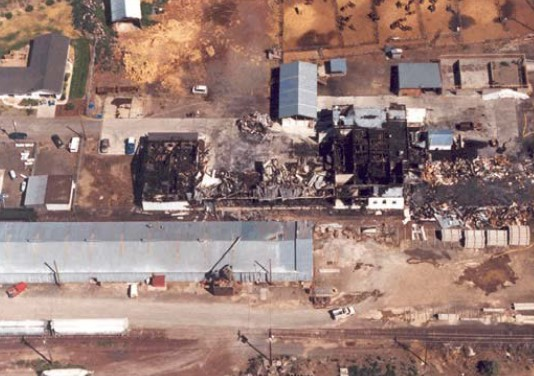 The federal government claims Joseph Dibee and a group of other environmental activists caused significant damage to the Cavel West horse slaughter facility in Madras, Oregon, in 1997.