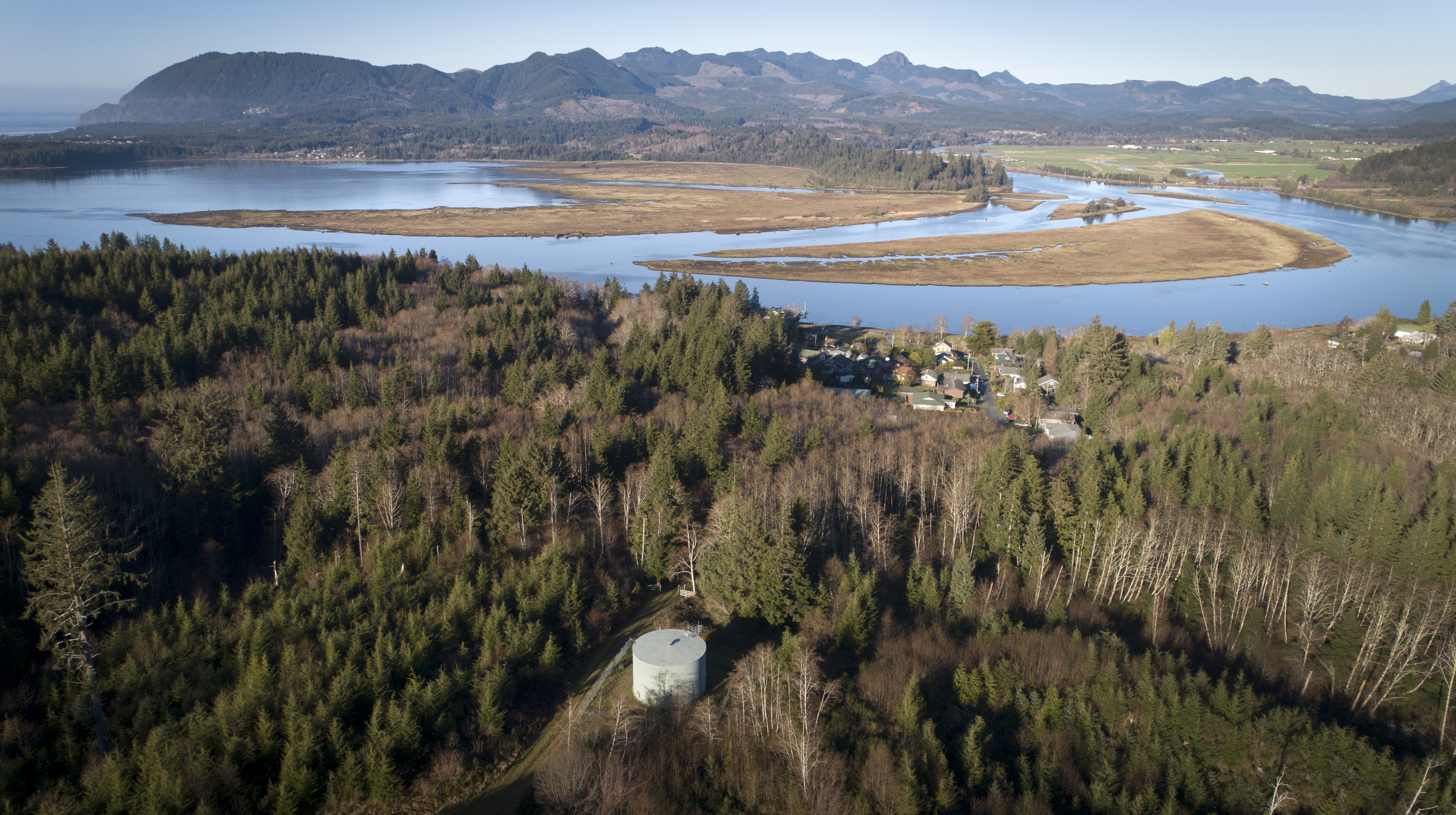 The 400 residents of Wheeler, Oregon, were forced to find a new water supply after muddy logging runoff filled the townÕs reservoirs.