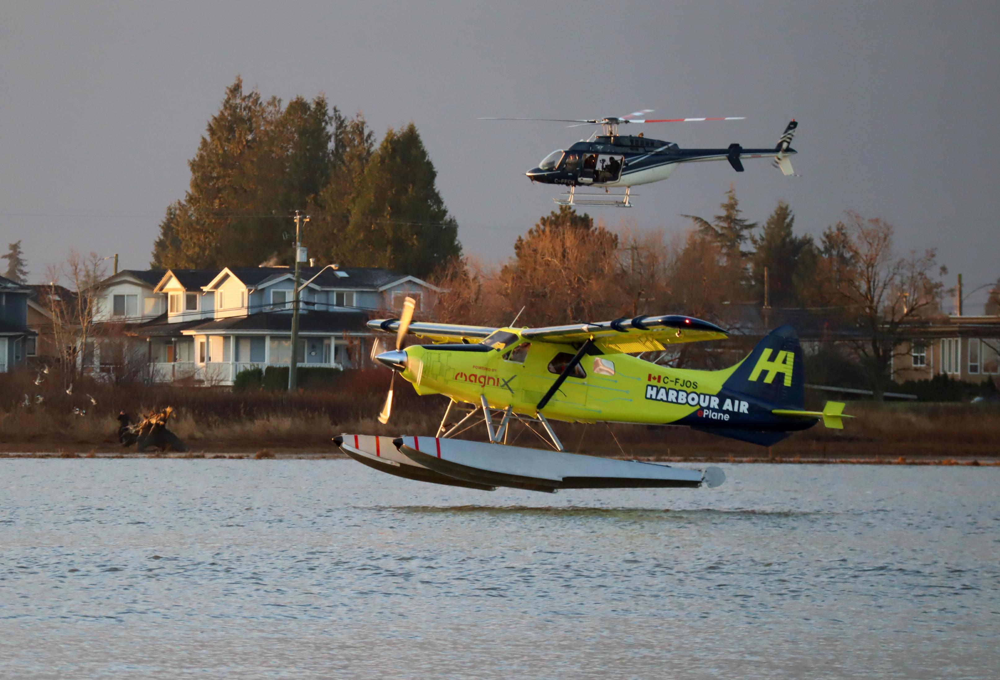 It Flew All Electric Seaplane Completes Milestone First Flight Near Vancouver Bc Opb